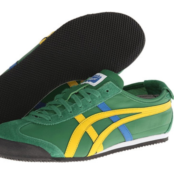 differently 5ed92 13ca9 Onitsuka Tiger by Asics Mexico 66 green size 7.5